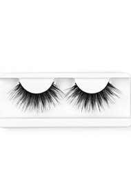 cheap -Neitsi One Pair 6D Synthetic False Eyelashes Black Women Girls Makeup Party Eyelashes Extensions H6