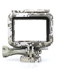 Недорогие -Гладкая Рамка Защита Для Экшн камера Gopro 7 Gopro 6 Gopro 5 Отдых и Туризм На открытом воздухе Разные виды спорта Силикон