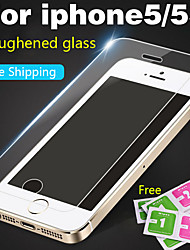 cheap -protective glass on the for iphone4 4s 5 5s 5se tempered glass screen protector for iphone5 hd toughened protective film guard