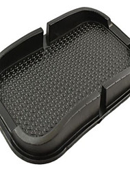 Недорогие -автомобильный держатель для мобильного телефона, нескользящий коврик для приборной панели, противоскользящее крепление - черный