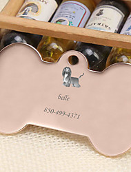 cheap -Personalized Customized Afghan Hound Dog Tags Classic Gift Daily 1pcs Gold Silver Rose Gold