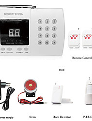 cheap -99 Ways Wireless GSM Alarm System Household Infrared Alarm