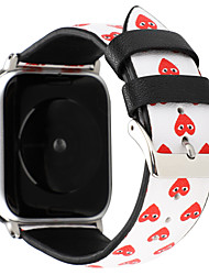 cheap -Love Heart Bracelet Strap For Apple Watch Band 38/40mm 42/44mm Leather Series 4 3 2 1