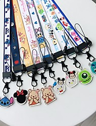 cheap -Cell Phone Strap Phone Strap / Lovely PVC(PolyVinyl Chloride) Universal / iPhone 8 Plus / 7 Plus / 6S Plus / 6 Plus