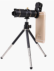 cheap -Universal Clip HD15X Zoom Cell Phone Telescope Lens Telephoto External Smartphone Camera Lens For iPhone Samsung Huawei