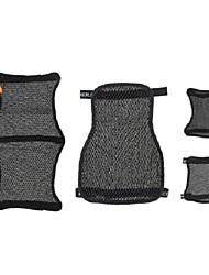 Недорогие -3d сотовый универсальный мотоцикл классный чехол на сиденье сетка подушка дышащая подушка