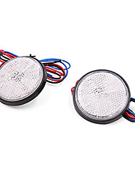 Недорогие -2 шт. Светодиодный мотоцикл скутер отражатель задний тормоз указатель поворота свет лампы stylewhite shell