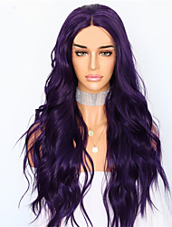 cheap -Synthetic Wig Body Wave Layered Haircut Wig Very Long Pink / Purple Synthetic Hair 68~72 inch Women's New Arrival Purple
