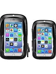 cheap -Cell Phone Bag Bike Handlebar Bag 5.8    6.0 inch Touch Screen Cycling for All Phones Black Road Bike Motobike / Motorcycle Bike / Cycling