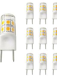 cheap -10pcs 2 W LED Bi-pin Lights 200 lm G8 T 17 LED Beads SMD 2835 Warm White White 110-120 V
