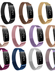 cheap -Watch Band for Fitbit Inspire HR / Fitbit Inspire Fitbit Sport Band Stainless Steel Wrist Strap