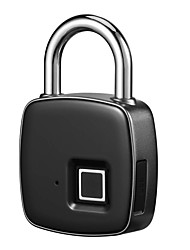 cheap -IP65 Waterproof Anti-theft Fingerprint ID Smart Keyless Lock Door Case Bag Padlock
