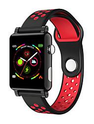 cheap -Women's Digital Watch Casual Fashion Black Red Grey Silicone Digital Black Red Gray Water Resistant / Waterproof Bluetooth Smart 30 m 1 set Digital
