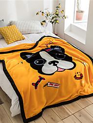 cheap -Bed Blankets / Sofa Throw / Multifunctional Blankets, Cartoon Flannel Toison / Fleece Warmer Comfy Super Soft Blankets