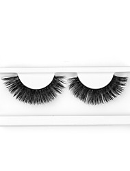 cheap -Neitsi One Pair False Eyelashes Extensions Black Mini Lases Extensions Soft 3D Eyelashes High Quality Dramatic Charming  Eyelashes M13