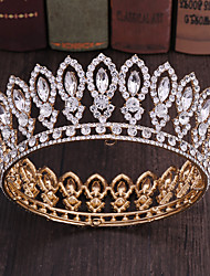cheap -Alloy Tiaras with Rhinestone 1 Piece Special Occasion Headpiece