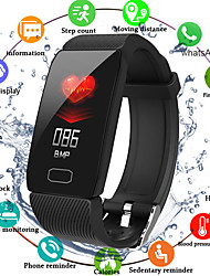 cheap -Q1 Unisex Smart Wristbands Android iOS Bluetooth Waterproof Heart Rate Monitor Blood Pressure Measurement Distance Tracking Information Pedometer Call Reminder Activity Tracker Sleep Tracker