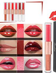 abordables -smakup hydratant dodu scintillant brillant à lèvres 8 couleur cosmétique nutritif miroitant liquide rouge à lèvres beauté lèvres maquillage maquiagem