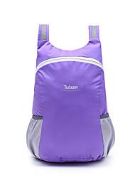 Недорогие -40 L Рюкзаки Легкий упаковываемый рюкзак Водонепроницаемость Легкость Дышащий Ультралегкий (UL) На открытом воздухе Пешеходный туризм Походы Путешествия Нейлон Черный Зеленый Фиолетовый / Компактный
