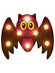 Недорогие -Brelong Хэллоуин летучая мышь огни на батарейках хэллоуин из светодиодов ночник настольная лампа для Хэллоуина украшения фестиваль настенный декор стены 1 упак
