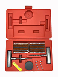cheap -37pcs/set Universal Tire Repair Kit to Fix Punctures and Plug Flats