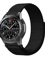 cheap -1 Pcs Watch Band 22MM Woven Nylon Sport Loop Strap Watch Strap for Samsung Galaxy Watch 46mm / Gear S3 Frontier / Gear S3 Classic