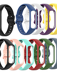 cheap -Silicone Watchband Strap For Samsung Galaxy Fit e SM-R375 Watch Band Wrist Bracelet Straps