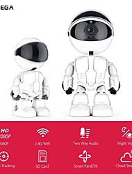 cheap -INQMEGA 1080P Cloud IP Camera Robot Intelligent Camera Wi-fi Robot Camera Home Security Wireless CCTV Camera