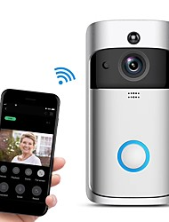 cheap -Factory OEM M3 Wireless No Screen(output by APP) Handheld One to One video doorphone