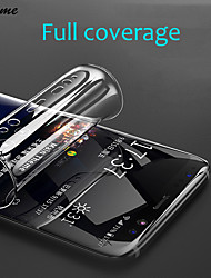 cheap -plusme 3d full cover soft hydrogel film for samsung galaxy s8 s9 a8 plus soft film for samsung s7 edge note 8 9 (not glass)