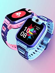 Недорогие -xiaomi y1 4g дети умные часы bt фитнес-трекер поддержка уведомлять / монитор сердечного ритма встроенный GPS SmartWatch телефон с камерой