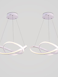 cheap -2PS Modern Simple Personality External Luminescent LED Chandelier Is Suitable For The Restaurant