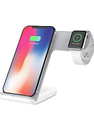 cheap -Smartwatch Charger / Portable Charger / Wireless Charger USB Charger USB Wireless Charger 1.1 A / 1 A DC 9V / DC 5V for Apple Watch Series 4/3/2/1 iPhone X / iPhone 8 Plus / iPhone 8