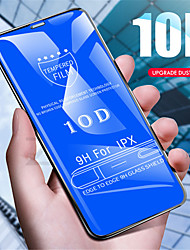 cheap -10d protective glass for iphone x 7 8 plus 10 d edge tempered glass on for iphone 7 8 x glas case ix i7 film