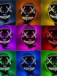 cheap -Ghost Halloween Props / Holiday Jewelry / Masquerade Mask Teen Horror / Halloween Men's Azure / White / Purple Plastics Masquerade Cosplay Accessories Halloween / Carnival / Masquerade Costumes