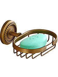 cheap -Soap Dishes & Holders Creative Antique / Traditional Brass / Stainless Steel / Iron Bathroom / Hotel bath Wall Mounted