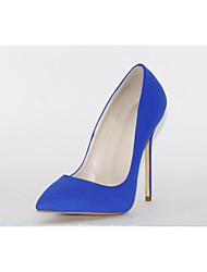 cheap -Women's Heels Stiletto Heel Pointed Toe Suede Spring &  Fall Blue