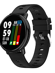 cheap -KW02 Smart Watch IP68 Waterproof Fitness Activity Tracker Smartwatch Multiple Sports Modes Color Touch Screen Heart Rate Monitor