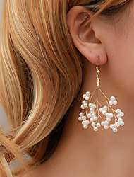cheap -Women's Earrings Beads Tree of Life Imitation Pearl Earrings Jewelry Gold For Wedding Engagement Carnival Club 1 Pair