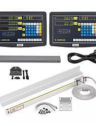 Недорогие -2/3 осевая решетка фрезерный станок с ЧПУ с цифровым считыванием / 50-1000 мм электронный токарный станок с линейной шкалой - jcs900-3ae
