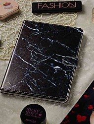 cheap -Adjustable Case For Apple / Samsung Galaxy / Huawei / Asus / Amazon / Lenovo Black Marble PU Leather 7-7.9 Inch
