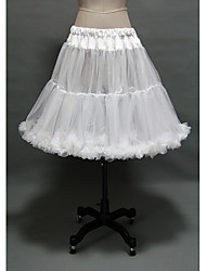 Недорогие -Принцесса Нижняя юбка пачка Под юбкой 1950-е года Готика Средневековый Белый / Кринолин