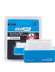 Недорогие -Устройство экономии топлива outzone eco nitro obd2 блок настройки и подключения чипа привода для бензина 15% экономии топлива ncelec блок подключения и управления чипом настройки nitro obd2