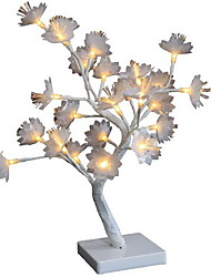 cheap -Tree Light LED Night Light Flowers Creative Home Decoration Staycation AA Batteries Powered 1pc