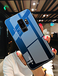cheap -Phone Case For Samsung Galaxy Back Cover S9 S8 Note 9 S10 Note 10 Ultra-thin Color Gradient Tempered Glass