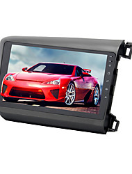 Недорогие -9-дюймовый Android 8.0 1din 4 ГБ 32 ГБ автомобильный GPS-навигатор с сенсорным экраном автомобильный мультимедийный DVD-плеер для Honda Civic 2012-2014