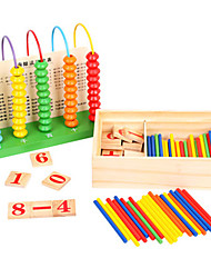 Недорогие -Игрушечные счеты Игрушки для обучения математике Обучающая игрушка Квадратный Экологичные Классика Игрушки Подарок