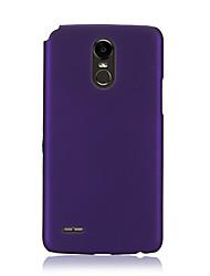 Недорогие -Кейс для Назначение LG LG StyLo 3 / LG Stylo 4 / LG Stylo 5 Ультратонкий Кейс на заднюю панель Однотонный ТПУ