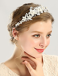 cheap -Alloy Headbands / Headdress / Headpiece with Petal / Sparkling Glitter / Crystals 1 Piece Wedding / Party / Evening Headpiece