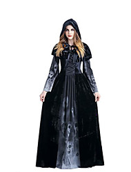 cheap -Inspired by Rosario and Vampire Vampire Dracula Anime Cosplay Costumes Japanese Dresses Dress / Shawl For Women's